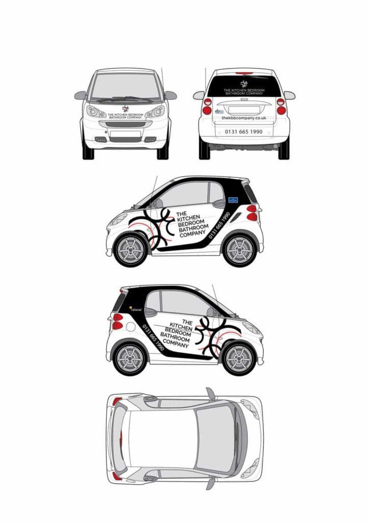 Smart Car Livery