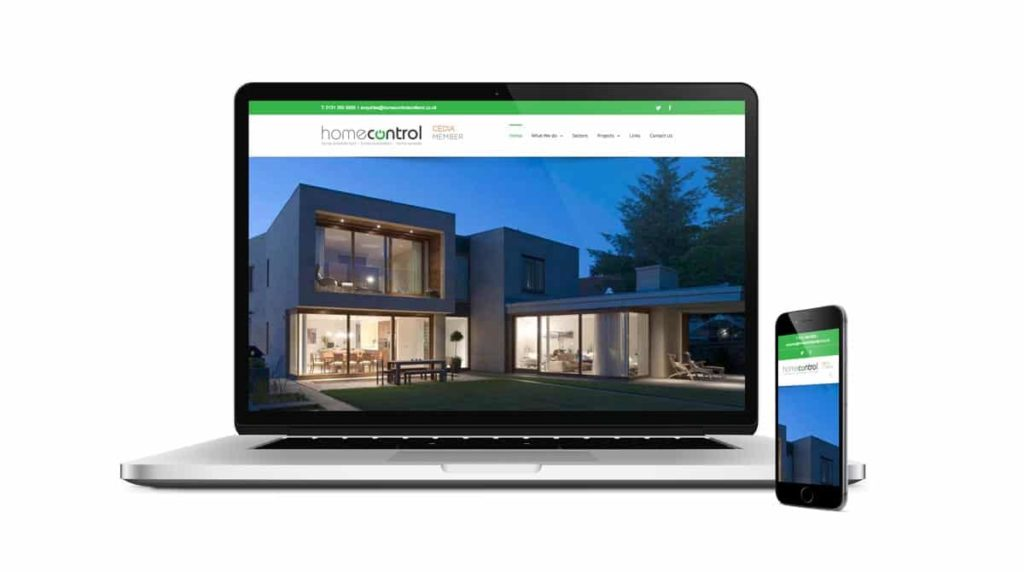 Home Control Website